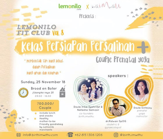 Tiket Lemonilo Fit Club Vol. 8