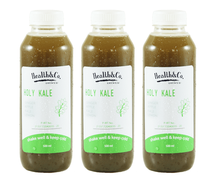 Health & Co. Paket 3 Botol Holy Kale