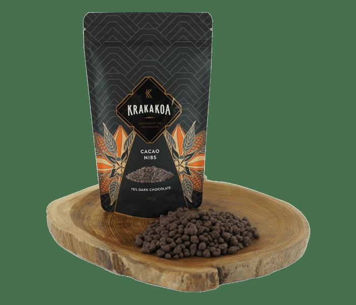 Krakakoa Cacao Nibs 70% Cokelat Hitam