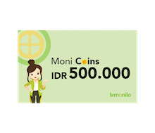 Top Up Moni Coins IDR 500.000