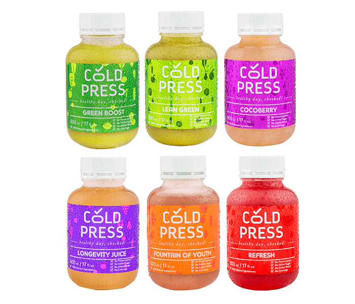 Cold Press 3 Days Anti Aging Detox