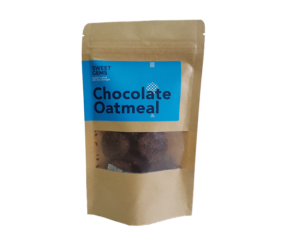 Sweet Gems Chocolate Oatmeal Cookies 60 gr