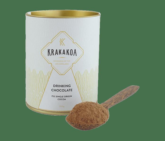 Krakakoa Minuman Cokelat 75% Single Origin Cocoa