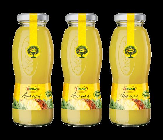 Rauch Pineapple Juice 200 ml (Pack of 3)