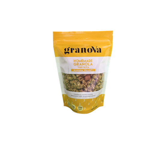 Granova Homemade Granola Banana Walnut 100 gr