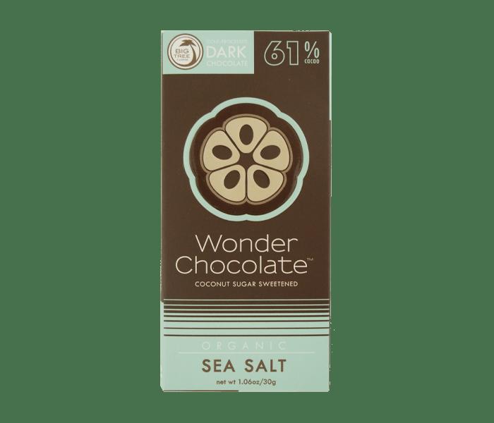 Big Tree Farms Wonder Chocolate 61% Cokelat Organik Garam Laut