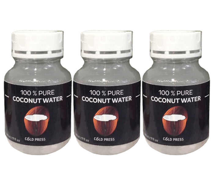 Cold Press Coconut Water Pack of 3