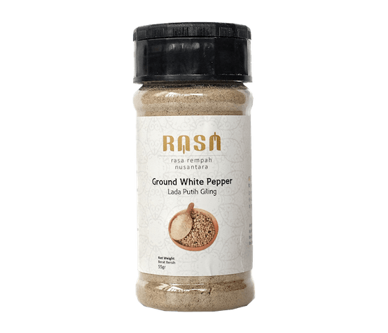 Rasa Ground White Pepper 55 gr