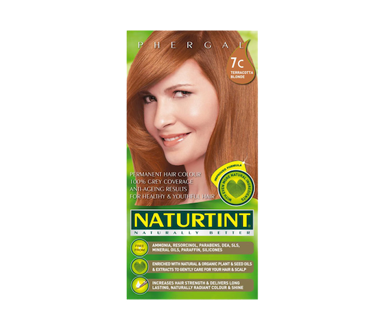 Naturtint Permanent Hair Color 7C (Terracotta Blonde)