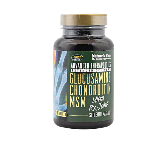 Nature's Plus Glucosamine Chondroitin MSM Ultra RX-Joint 90 Tablet