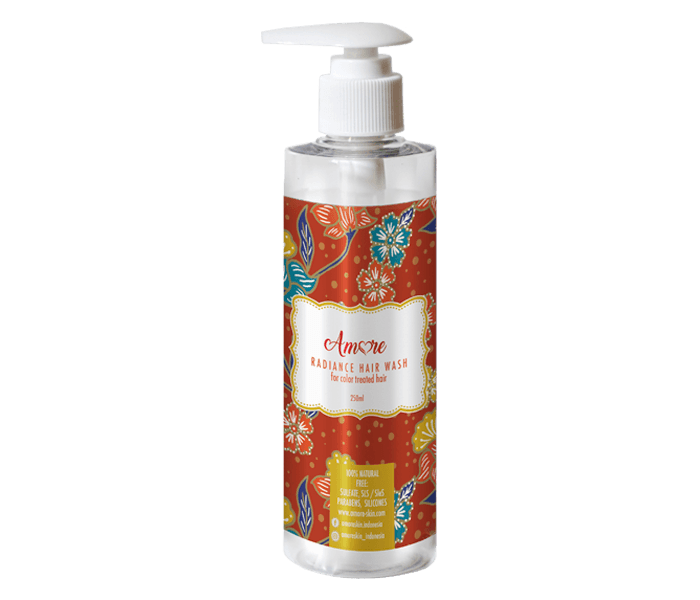 Amore Radiance Hair Wash for Color Treated Hair 250 ml