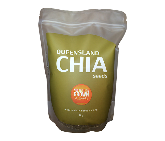 AGN Queensland Chia Seeds 1 kg