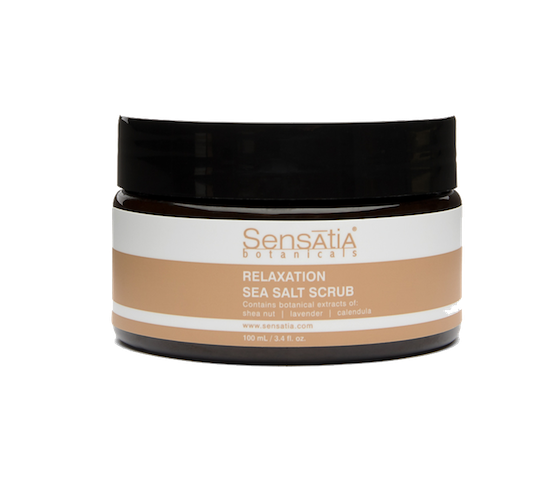 Sensatia Botanicals Relaxation Sea Salt Scrub 100 ml