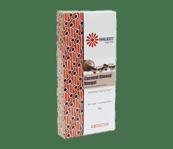 Marguerite Coconut Almond Nougat 200 gr