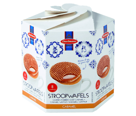 Daelmans Bisc-Caramel Wafer in Box 230 gr (Pack of 2)