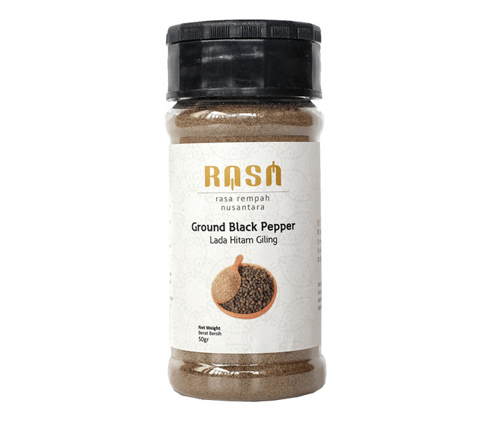 Rasa Ground Black Pepper 50 gr