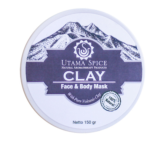 Utama Spice Clay Face and Body Mask 150 gr