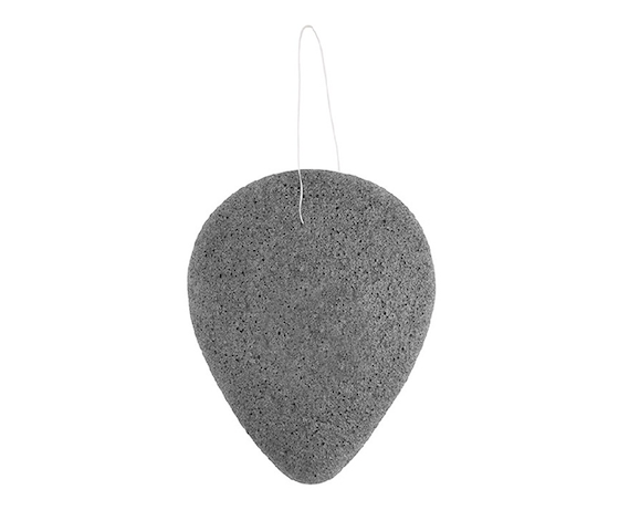 Nicole's Natural Face Sponge Tear Drop Bamboo Charcoal 50 gr