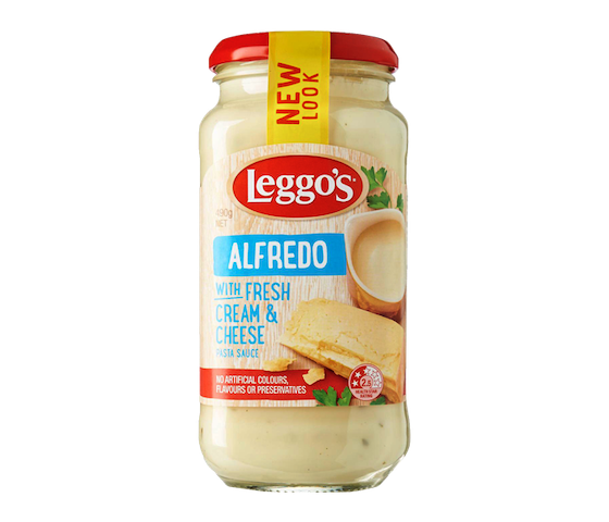Leggos Alfredo With Fresh Cream & Cheese 490 gr