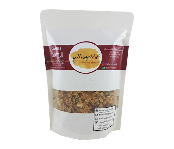 Yellowfields Granola Eastern Ji 400 gr