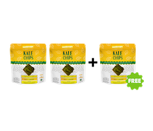 [Promo] BUY 2 GET 1 Sunkrisps Kale Chips Salt Cheese