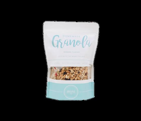 Minime Homemade Granola Banana Flavour 500 gr