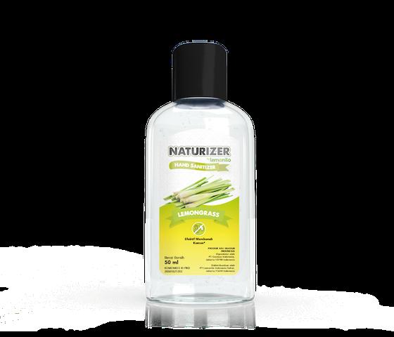 Hand Sanitizer Naturizer by Lemonilo Lemongrass Gel 50 ml