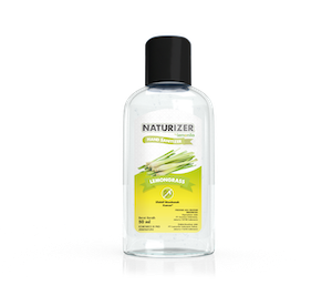 Hand Sanitizer Naturizer Lemongrass Gel 50 ml