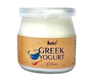 Hao Greek Yogurt Plain 190 gr