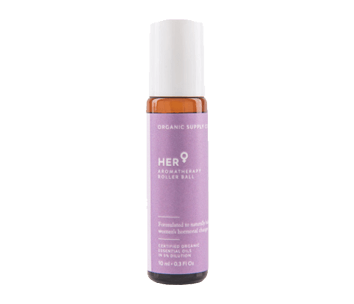 Organic Supply Her Aromatherapy Roller Ball 10ml