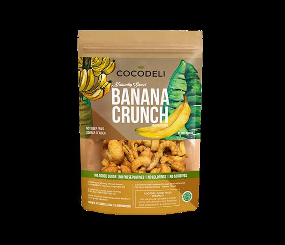 Cocodeli Naturally Sweet Banana Crunch 65 gr
