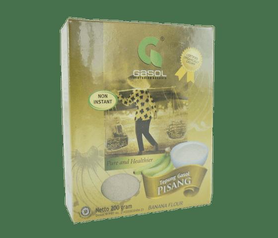 Gasol Tepung Pisang Organik