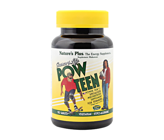 Nature's Plus Source of Life Pow Teen 90 Tablet