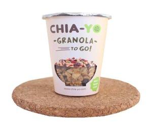 Chia-Yo Granola To Go 65 gr