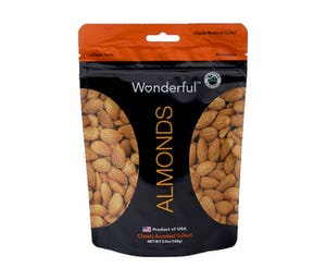 Wonderful Classic Roasted Salted Almonds 168 gr