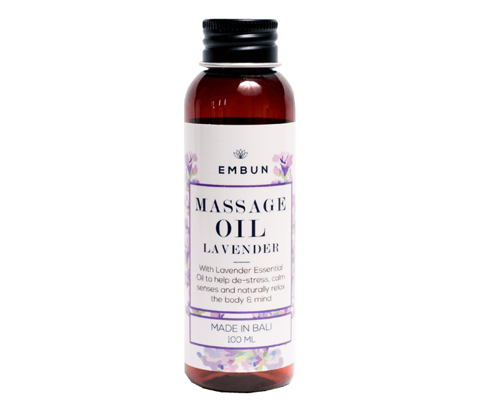 Embun Massage Oil Calming Lavender 100 ml