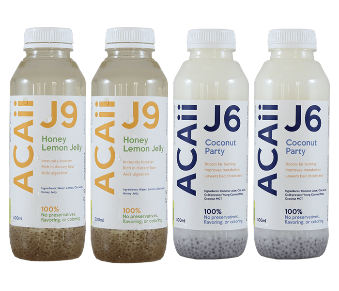 Acaii Sweet And Tangy Juice Package