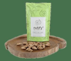 Nutify Kacang Almond Cabai Jeruk Nipis Gourmet