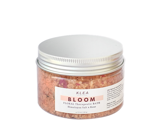 Klea Skincare Bloom Floral Therapeutic Bath Salt 100 gr