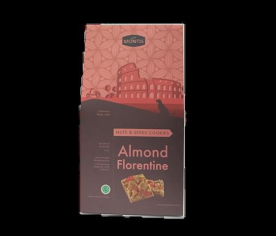 Montis Kue Kering Almond Florentine Less Sugar