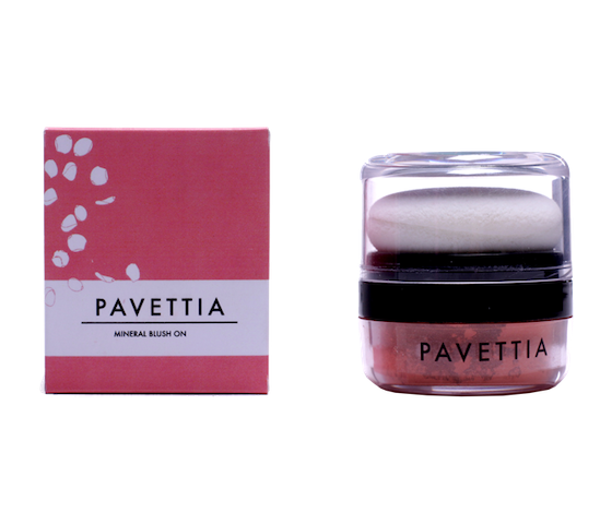 Pavettia Natural Mineral Blush
