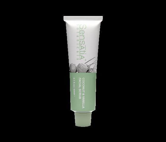 Sensatia Botanicals Coconut & Vanilla Facial Scrub 60 ml