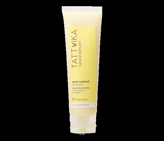 Tattvika Acne Control Facial Wash Serum Balancing 50 gr