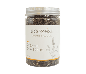 EcoZest Chia Seeds Organik 200 gr