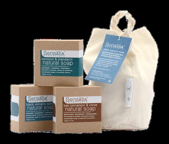Sensatia Bar Soap Bali Essence 3 Pieces Gift Pack