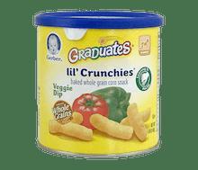 Gerber Graduates Lil' Crunchies Biskuit Sayuran