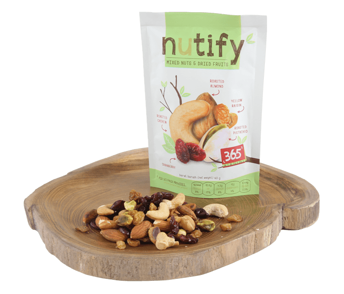 Nutify Mixed Nuts & Dried Fruits 365 Days Mix
