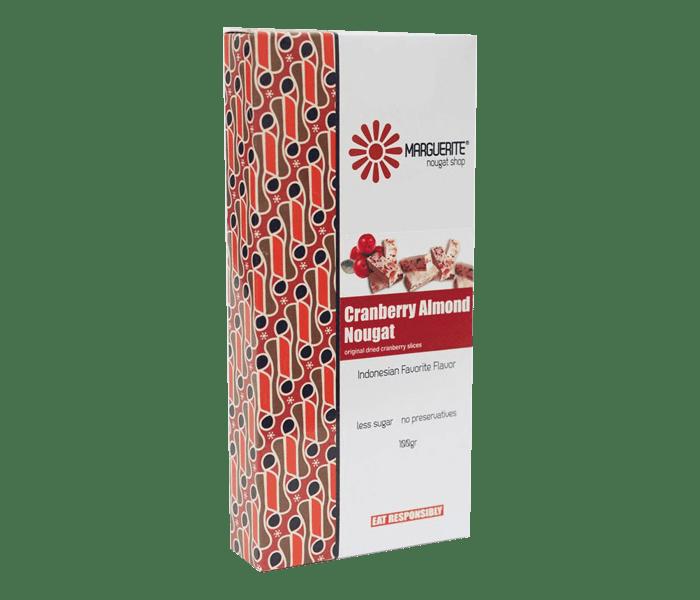 Marguerite Cranberry Almond Nougat 200 gr