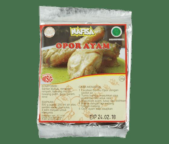 Nafisa Bumbu Opor Ayam Alami