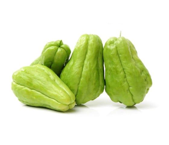Keranjang Sayur Labu Siam Kecil Organik